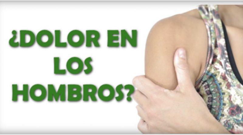 Dolor en los hombros se llama tendinitis y te diremos como aliviarlo